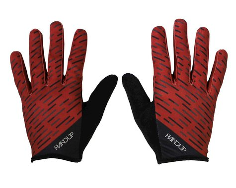 Handup Pinned Gloves (Warp Speed - Maroon/Black)