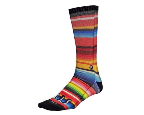 Handup Stoked Foot Down Socks (Serape)