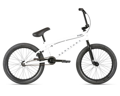 "Haro Bikes 2021 Downtown BMX Bike (20.5"" Toptube) (White)"