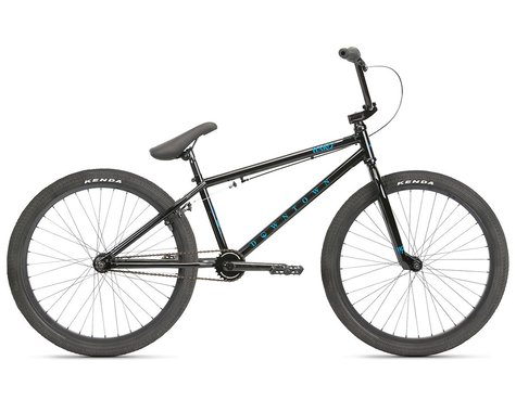 "Haro Bikes 2021 Downtown 24"" Cruiser BMX Bike (21.7"" Toptube) (Black)"