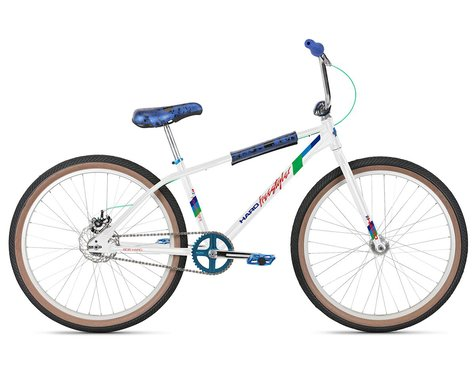 "Haro Bikes 2021 Bob Haro Freestyler Legends 26"" BMX Bike (22.5"" Toptube) (White)"