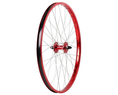 "Haro Bikes Legends 26"" Front Wheel (Red) (26 x 1.75)"