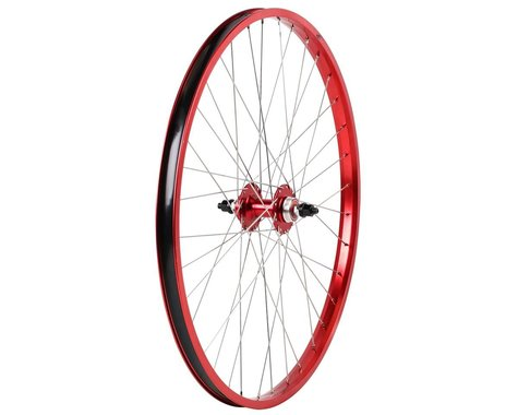 "Haro Bikes Legends 26"" Rear Wheel (Red) (26 x 1.75)"