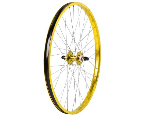 "Haro Bikes Legends 26"" Rear Wheel (Gold) (26 x 1.75)"