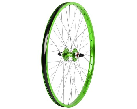 "Haro Bikes Legends 26"" Rear Wheel (Green) (26 x 1.75)"