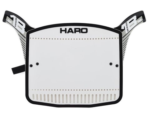 Haro Bikes Series 1B Number Plate (Black/Grey)