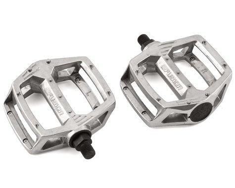 "Haro Bikes Fusion Pedals (Silver) (Pair) (1/2"")"