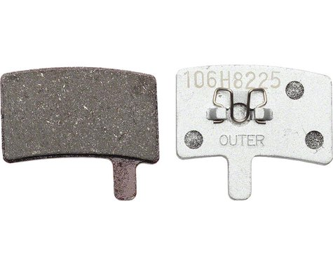 Hayes Stroker Trail/Carbon Sintered Disc Brake Pads Aluminum Back Plate