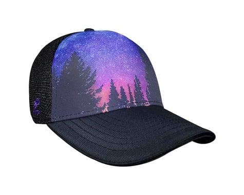 Headsweats Rockies Trucker Hat (Black/Purple)