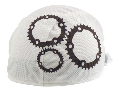 Headsweats Coolmax Gears Shorty Skullcap (White/Grey)