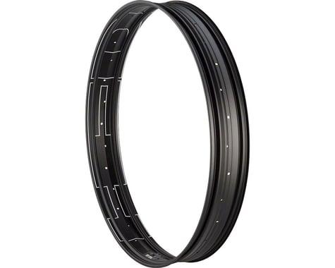 """Hed Big Aluminum Deal Clincher Rim (24"""") (32H) (Black) (80mm)"""