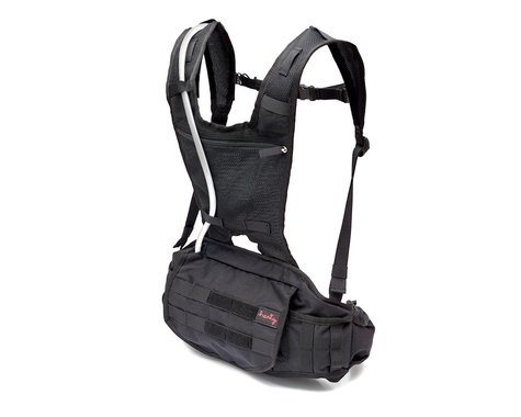 Henty Enduro 2.0 Hydration Backpack (3L Bladder) (Black)
