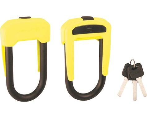 Hiplok D Wearable Hardened Steel Shackle U-Lock (Black & Lime) (13mm)