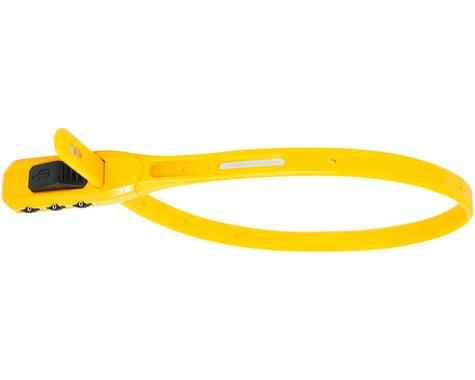 Hiplok Z-Lok Combo Security Tie Lock Single (Yellow)