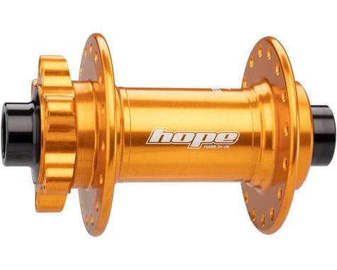 Hope Pro 4 Front Disc Hub (Orange) (32H) (15mm Boost Axle)
