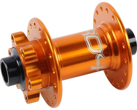 Hope Pro 4 Front Disc Hub (Orange) (32H) (15mm Axle)