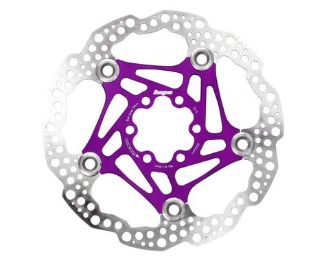 Hope Floating Disc Brake Rotor (Purple) (6-Bolt) (1) (160mm)