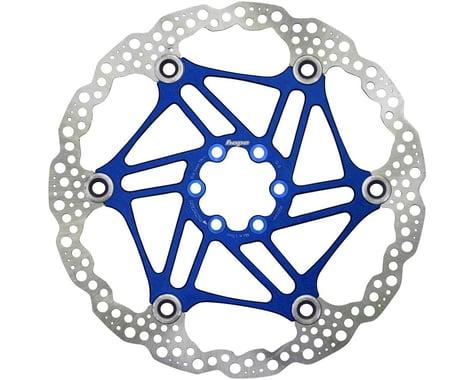 Hope Floating Disc Brake Rotor (Blue) (6-Bolt) (1) (200mm)
