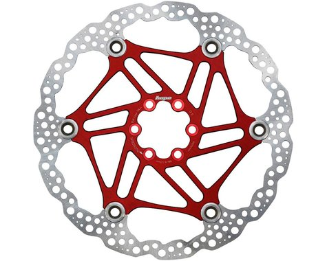 Hope Floating Disc Brake Rotor (Red) (6-Bolt) (1) (200mm)