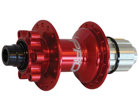 Hope Pro 4 Rear Disc Hub (Red) (32H) (12x142mm)