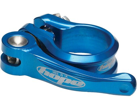 Hope Quick Release Seatpost Clamp (Blue) (34.9mm)