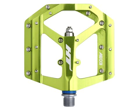 "HT AE03 Evo Pedals (Apple Green) (9/16"")"
