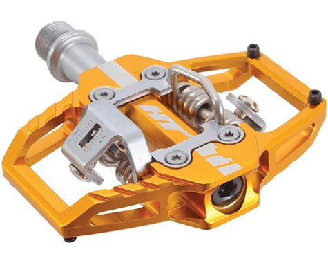 "HT T1 Clipless Pedals (Gold) (9/16"")"