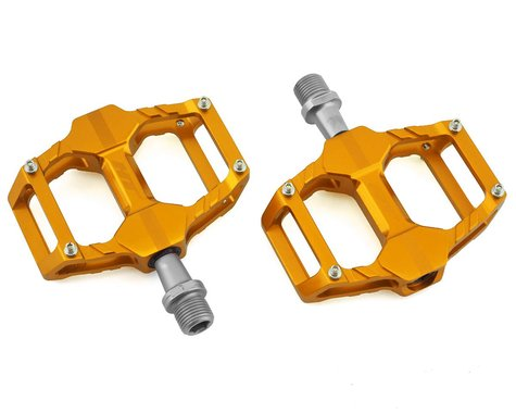 "HT AR06-SX Junior Pedals (Gold) (9/16"")"