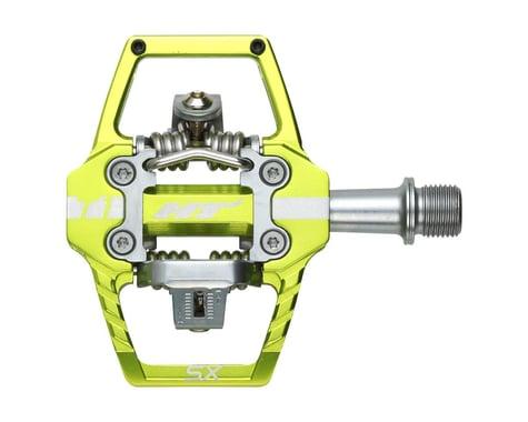 "HT T1-SX BMX-SX Pedals - Dual Sided Clipless with Platform, Aluminum, 9/16"", App"