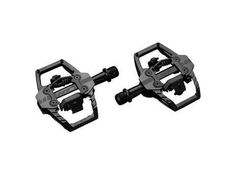 "HT T1-SX BMX-SX Pedals - Dual Sided Clipless with Platform, Aluminum, 9/16"", Ste"