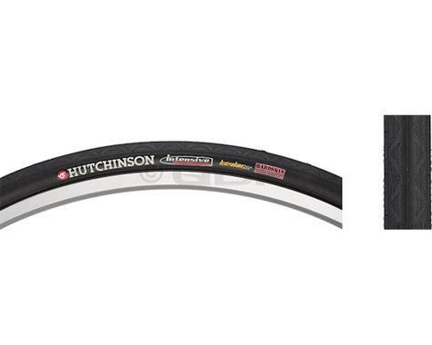 Hutchinson Intensive 2 Tubeless Road Tire (Black) (700c) (25mm)