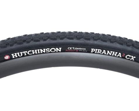 Hutchinson Piranha CX Tubeless Ready Tire  (Black) (700c) (34mm)