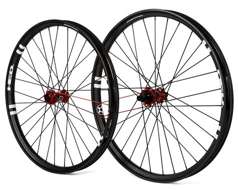 "Industry Nine Torch Hubs With HED Raptor Carbon Rims (27.5"") (Boost)"