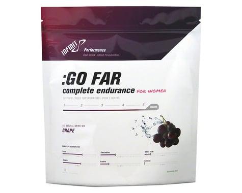 Infinit Nutrition :Go Far for Women Drink Mix - Grape (Grape                 972)