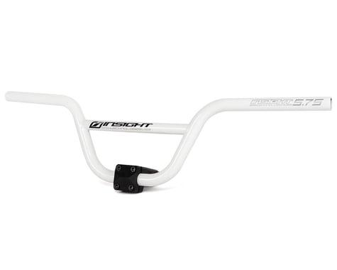 """INSIGHT Pro Chromoly BMX Handlebar (White) (5.75"""" Rise)"""
