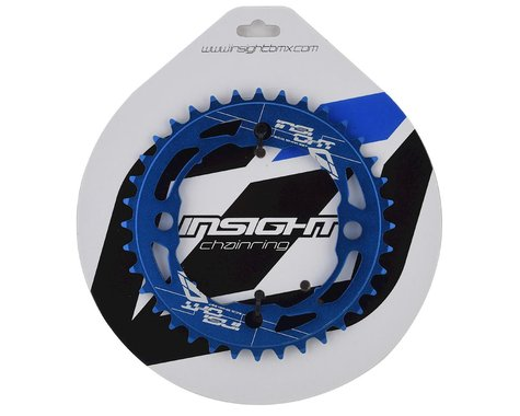 INSIGHT 4-Bolt Chainring (Blue) (36T)