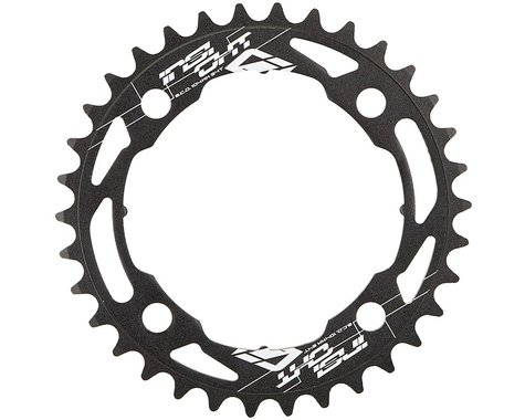 INSIGHT 4-Bolt Chainring (Black) (34T)