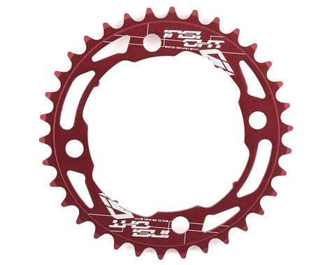 INSIGHT 4-Bolt Chainring (Red) (34T)