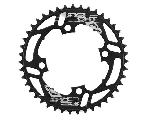 INSIGHT 4-Bolt Chainring (Black) (43T)