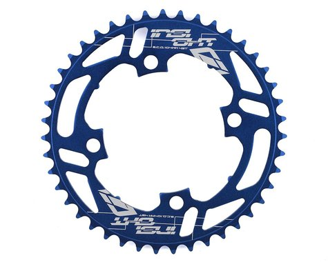 INSIGHT 4-Bolt Chainring (Blue) (43T)