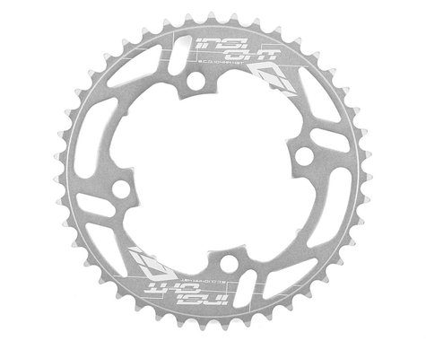 INSIGHT 4-Bolt Chainring (Polished) (43T)