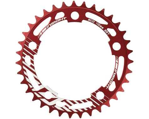 INSIGHT 5-Bolt Chainring (Red) (37T)