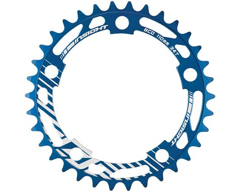INSIGHT 5-Bolt Chainring (Blue) (39T)