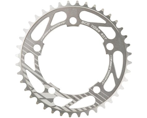 INSIGHT 5-Bolt Chainring (Polished) (40T)