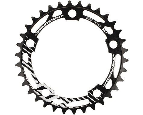 INSIGHT 5-Bolt Chainring (Black) (44T)