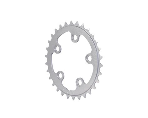 Interloc Racing Design Lobo Chainring (Silver) (74mm BCD) (Offset N/A) (28T)