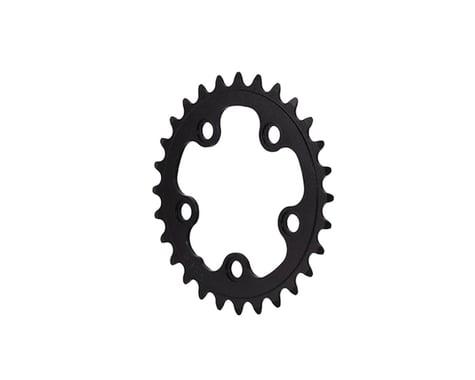 Interloc Racing Design Lobo Chainring (Black) (74mm BCD) (Offset N/A) (28T)