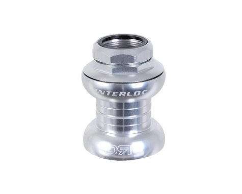 "Interloc Racing Design Double Roller Drive Headset (Silver) (1"" Threaded)"