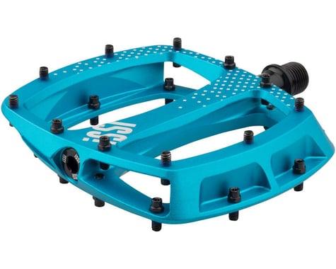 iSSi Stomp Aluminum Platform Pedals (Anodized Blue)