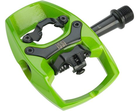 iSSi Flip II Pedals (Lime Green)